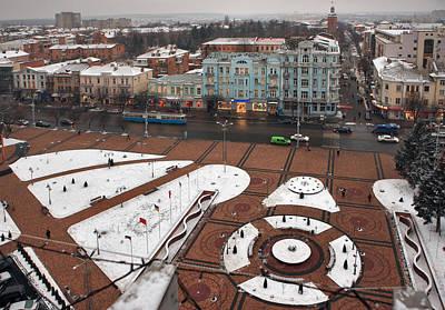 Winter Vinnitsa 05 Art Print by Zoriy Fine