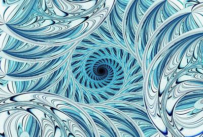 Winter Vortex Art Print