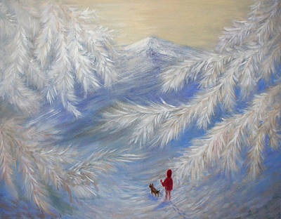 Painting - Winter Walk by Joanne Smoley