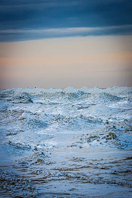 Winter Scene Photograph - Winter Watercolor by Sara Frank