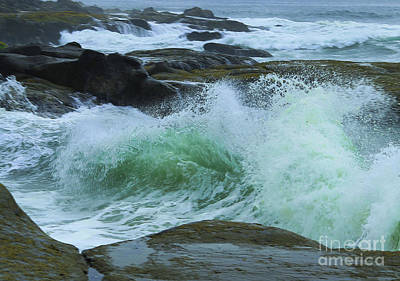 Photograph - Winter Wave by Jeanette French