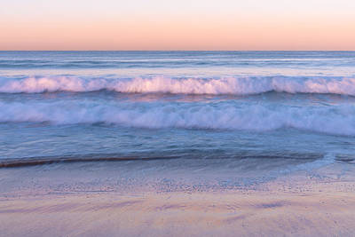 Turquoise Photograph - Winter Waves 4 by Priya Ghose