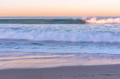 Pacific Beach Photograph - Winter Waves 6 by Priya Ghose