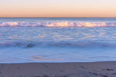 Photograph - Winter Waves 7 by Priya Ghose