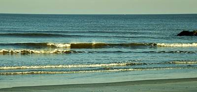 Photograph - Winter Waves by John Wartman