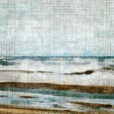 Lake Michigan Digital Art - Winter Waves by Michelle Calkins