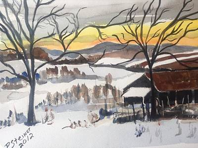 Painting - Winter White by Pat Steiner