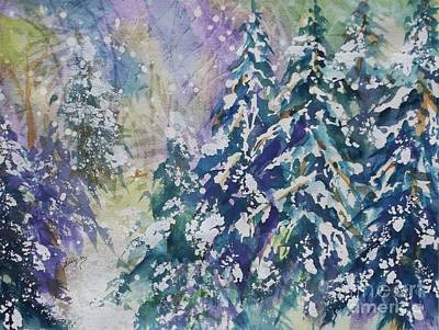 Painting - Winter Winds by Ellen Levinson