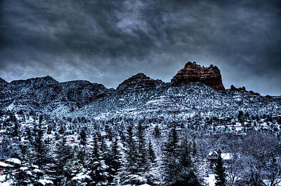 Flagstaff Wall Art - Photograph - Winter Wonder by Bill Cantey