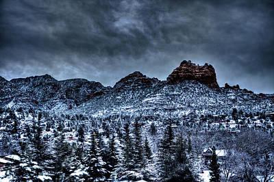 Sedona Arizona Photograph - Winter Wonder by Bill Cantey