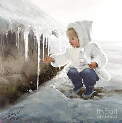 Winter Wonder Original by Donald Zolan