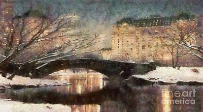 Painting - Winter Wonder Land by Scott B Bennett