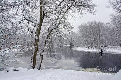 Winter Wonderland - Minute Man National Historical Park Art Print