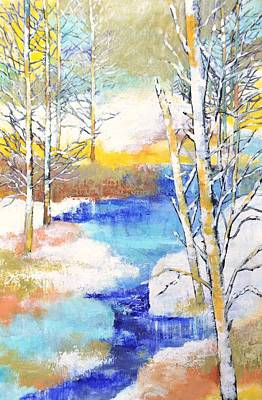 Winter Wonderland Art Print by Betty M M   Wong