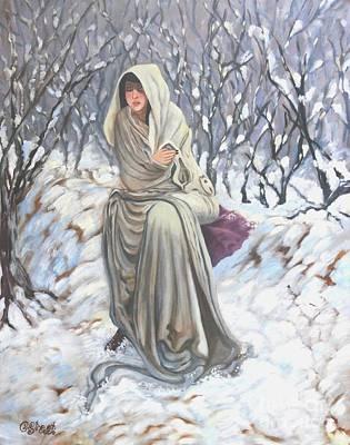 Winter Wonderland Art Print by Caroline Street