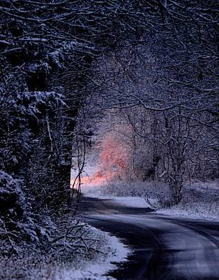 Christmas Holiday Scenery Photograph - Winter Wonderland by Deena Stoddard