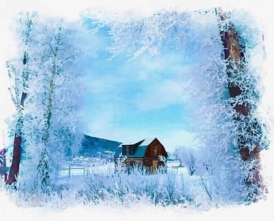Winter Wonderland Original by Don Kuing