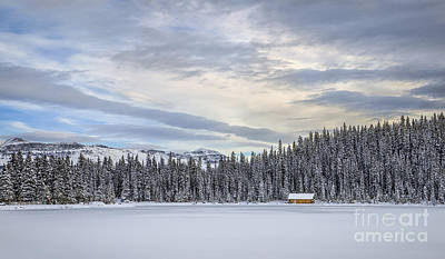 Lake Louise Photograph - Winter Wonderland by Evelina Kremsdorf
