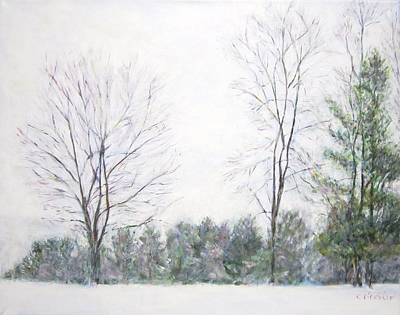 Painting - Winter Wonderland Usa by Glenda Crigger
