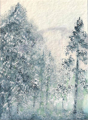 Painting - Winter Wonderland I by Shan Ungar