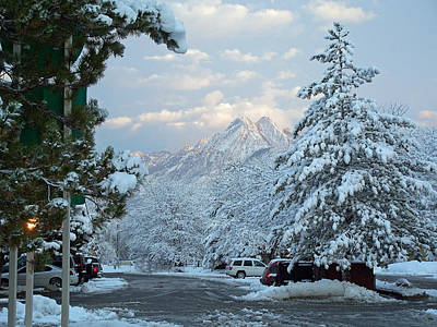 Photograph - Winter Wonderland In Murray Utah by Tikvah's Hope