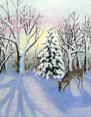 Painting - Winter Wonderland by Janet Greer Sammons