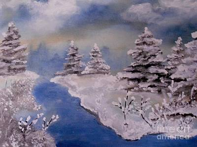 Painting - Winter Wonderland by LCS Art