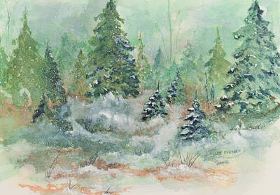 Painting - Winter Wonderland by Lee Beuther