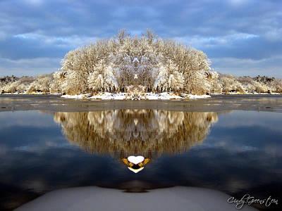 Cindy Photograph - Winter Wonderland Love by Cindy Greenstein