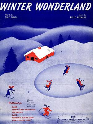 Winter Wonderland Art Print by Mel Thompson