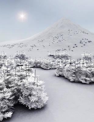 Winter Wonderland Art Print by Richard Rizzo