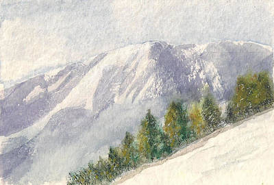 Painting - Winter Wonderland  by Shan Ungar