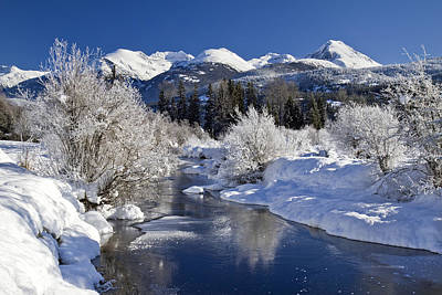 Riviere Photograph - Winter Wonderland Whistler B.c by Pierre Leclerc Photography