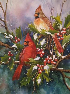 Winter Wonders Art Print by Cheryl Borchert