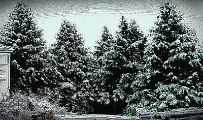 Winter Wood Original by Joy Nichols