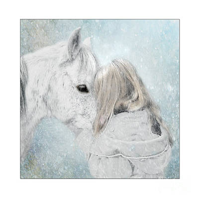 Wall Art - Mixed Media - Winterlove by Sabine Peters