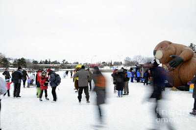 Photograph - Winterlude 2015 by Andre Paquin