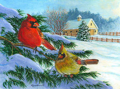 Painting - Winterlude by Richard De Wolfe
