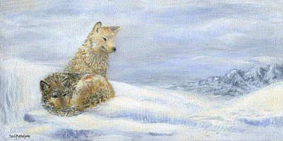Painting - Winterlude by Sandy Murphree Jacobs