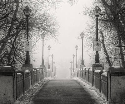 Photograph - Winters Bridge by Stuart Deacon
