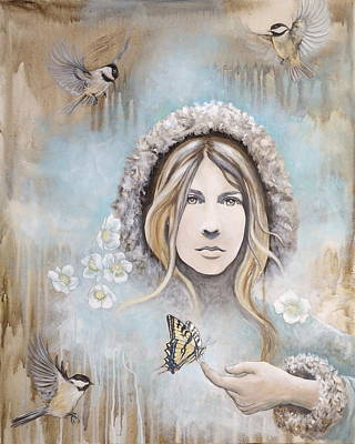 Painting - Winter's Dream by Sheri Howe