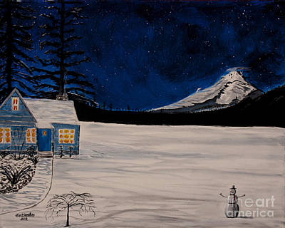 Painting - Winter's Eve by Ian Donley