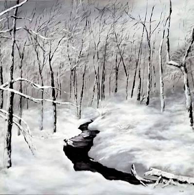 Winters Glory Art Print by Jennifer  Blenkinsopp