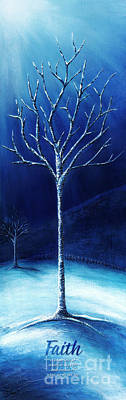 Winter's Hope Art Print by Shevon Johnson