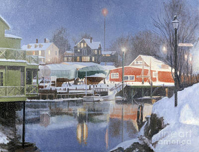 George W. Bush Painting - Winters Rest by Candace Lovely