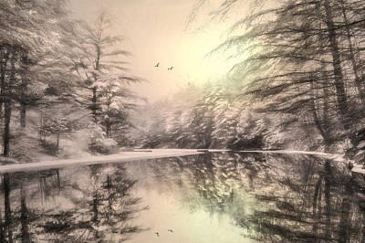 Wintry Digital Art - Winter's Soul by Lori Deiter