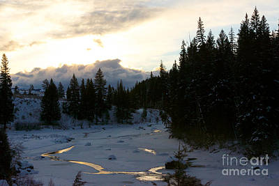 Photograph - Winter's Sunrise by Birches Photography