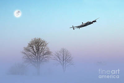 Winters Touch Art Print