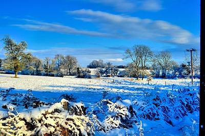 Winters View Art Print by Dave Woodbridge