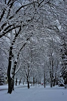 Winter's Work Art Print by Joseph Yarbrough